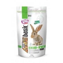LOLO Pets Полнорационный корм для кроликов 600 гр. LO70124