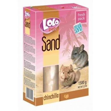 LOLO Pets Песок для шиншил 1500 гр. LO71051