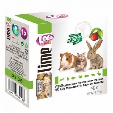 LOLO Pets Мел с яблоком для грызунов 40 гр.
