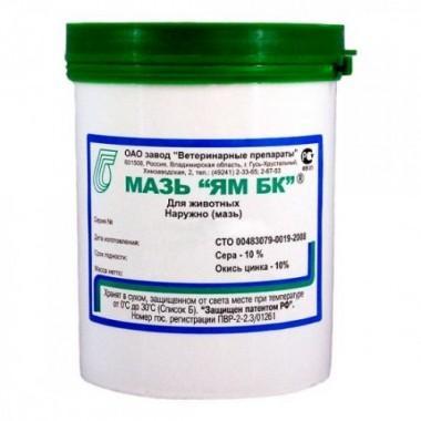Мазь «Ям БК» для лечения кожных заболеваний