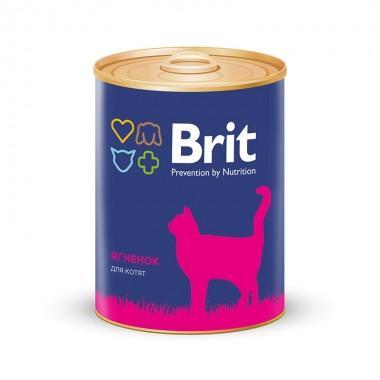Премиальный консервированный корм для котят с ягненком 340 гр.