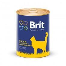 Brit Premium Мясное ассорти с потрошками