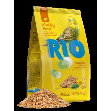 RIO Корм для волнистых попугайчиков. Рацион в период линьки