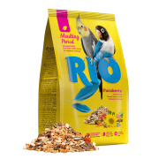 RIO Корм для средних попугаев. Рацион в период линьки