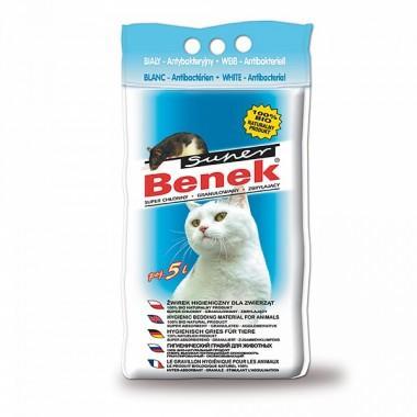 Наполнитель для туалета Super Benek 5л Антибактериальный