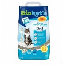 Biokat's Fresh 3in1 Cotton Blossom (с ароматом хлопка ), 10 кг.
