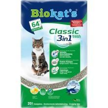 Biokat's Classic fresh 3in1 Fresh три вида гранул (10 л)