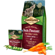 Carnilove Duck&Pheasant for Adult Cats Hairball Control