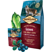 Carnilove Salmon for Adult Cats Sensitive & Long Hair
