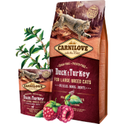 Carnilove Duck&Turkey for Large Breed Cats