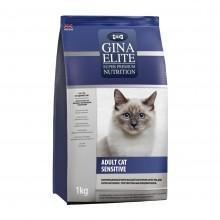 GINA Elite Cat Sensitive UK корм для кошек Сенситив (NEW)
