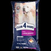 Club 4 Paws Премиум сухой корм для  взрослых собак крупных пород