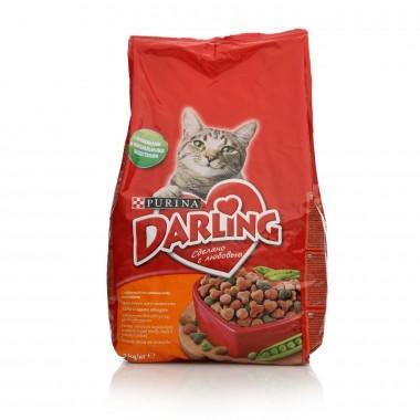Корм для кошек Darling с курочкой по-домашнему и овощами 1 кг.