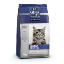 GINA Elite Cat Duck&Rice корм для кошек (NEW)