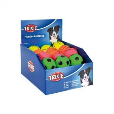 """Набор игрушек """"TRIXIE"""" для собаки """"Neon Balls"""" вспененная резина 3,5 /4.5 см. (неоновые"""