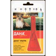 Дана Ультра для собак и щенков 10-20 кг, 1,6 мл/1 пипетка