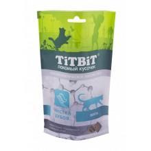 TiT BiT Хрустящие подушечки для кошек с мясом утки для чистки зубов