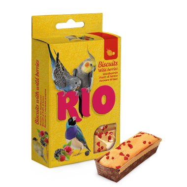 RIO Бисквиты для всех видов птиц с лесными ягодами