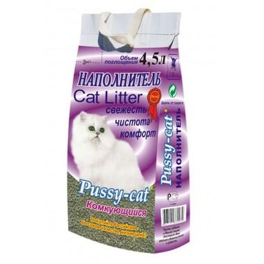Pussy-cat комкующийся 4,5 л .