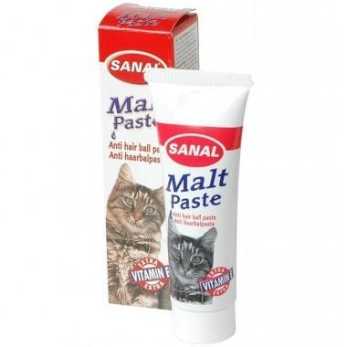 Sanal Для кошек мальт паста