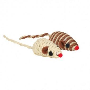 """Набор игрушек""""TRIXIE"""" для кошки в виде мышек, 5 см, (132 шт) (арт. 45808)"""
