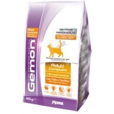 """""""Gemon Cat Adult Complete"""" для взрослых кошек с курицей и индейкой 1 кг. весовка"""