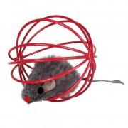 Игрушка для кошек Trixie - Мышь в шаре (4115)