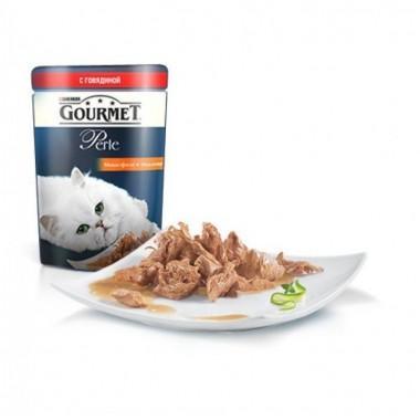Gourmet Perle мини-филе в подливе с говядиной  85 гр.