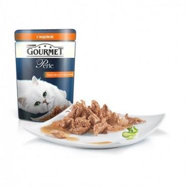 Gourmet Perle мини-филе в подливе с индейкой  85 гр.