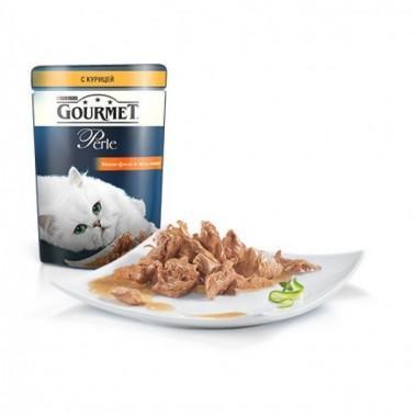 Gourmet Perle мини-филе в подливе с курицей  85 гр.