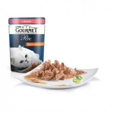 Gourmet Perle мини-филе в подливе с лососем  85 гр.