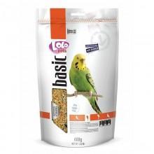 Корм для волнистых попугаев LoLo Pets полнорационный, дойпак 600 гр. 70214