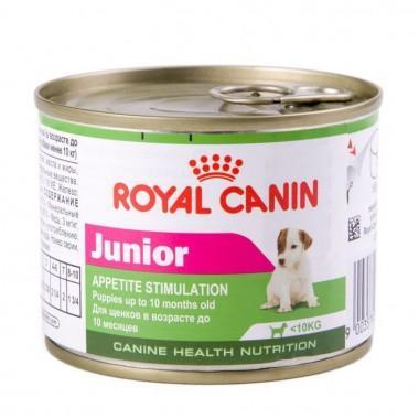 Royal Canin Junior Mousse - консервы для щенков до 10 месяцев, 195 гр.