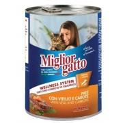 Консервы Miglior Classic Line Pat Veal and Carrots (Телятина с Морковью) 400 гр.