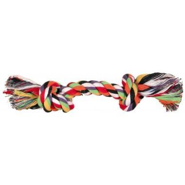 """Игрушка """"TRIXIE"""" для собаки """"DENTAfun"""" в виде веревки с двумя узлами"""