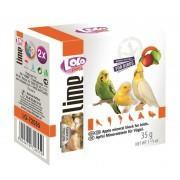 Минеральный камень для птиц LoLo Pets с яблоком 35 гр.  72055