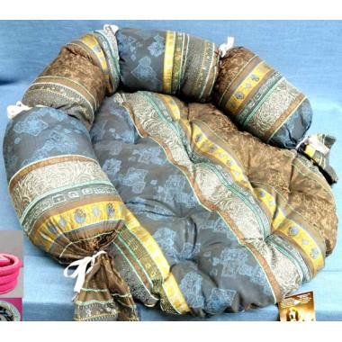 Матрац стеганный с валиком №8