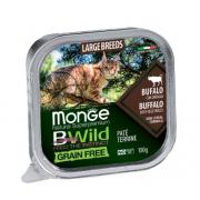 Monge Cat Bwild Grain Free Large Breed (Буйвол), 100 гр