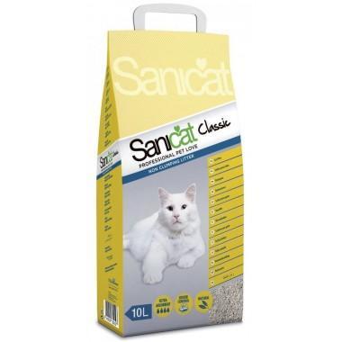 Наполнитель для туалета Sanicat Professional Classic 10 л