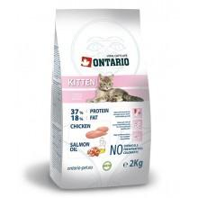 Корм Ontario для котят, с курицей