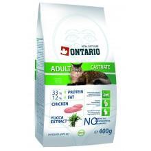 ONTARIO корм для стерилизованных кошек, 1 кг