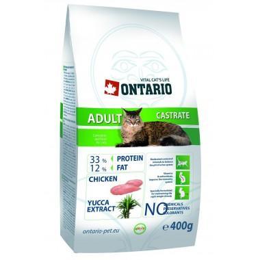ONTARIO корм для стерилизованных кошек