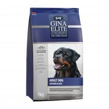 GINA Elite Dog Chiken&Rice корм для собак с Курицей и Рисом