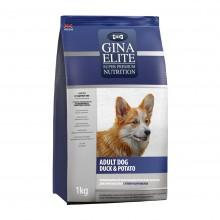 GINA Elite Dog Duck&Potato корм для собак Утка с Картофелем
