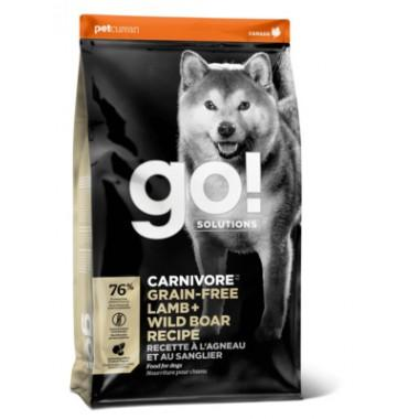 GO Беззерновой корм для Собак всех возрастов c Ягненком и мясом Дикого Кабана 1,59 кг, весовка