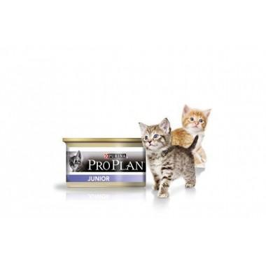ProPlan Junior mousse Нежный мусс с курицей, для котят 85 гр.