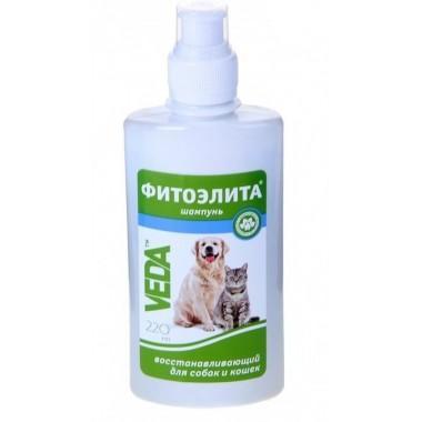 """Шампунь """"Фитоэлита"""" для кошек и собак восстанавливающий 220 мл."""