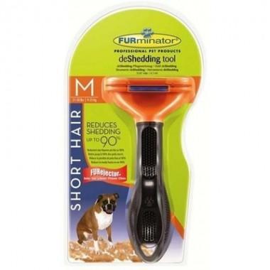 Фурминатор FURminator Short Hair Medium Dog M. 7 см для собак средних короткошерстных пород весом от 10 до 24 кг
