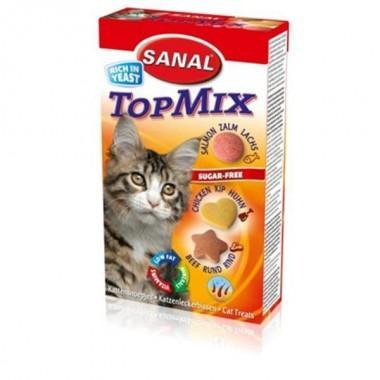 Санал для кошек Топ-микс, 85 таблеток.