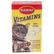 Sanal Vitamins (дрожжи) Витаминизированные лакомства 100 таблеток (Арт. 3000SC)